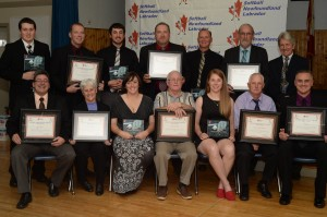 Hall of Fame Inductees And Provincial Award Winners