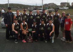 2015 Senior Ladies Fastpitch Provincial Champions Impact Signs