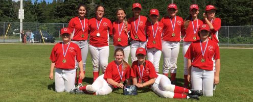 CBC2 U14 Girl's Slo-Pitch Provincial Champions (2017)